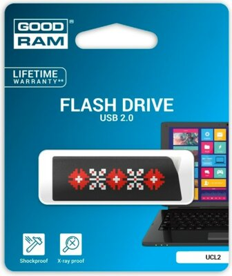 USB flash накопичувач GoodRam Cl!ck UCL2 32GB Ukraine Black 2