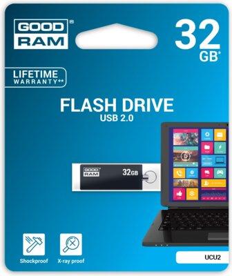 USB flash накопичувач Goodram Cube 32GB Black 2
