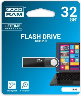 USB flash накопичувач Goodram URA2 32GB Black 4