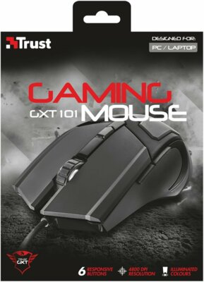 Мышь Trust GXT 101 5