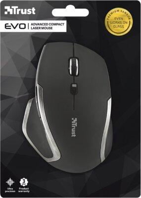Мышь Trust Evo Advanced Wireless Compact Laser Mouse Black 3