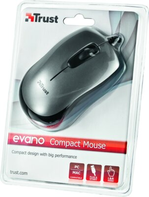 Мышь Trust Evano Compact Mouse 3