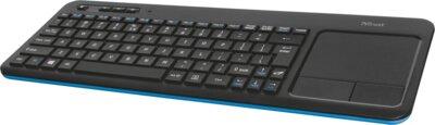 Клавиатура Trust Veza Wireless Touchpad Black 3