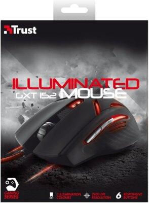 Мышь Trust GXT 152 Illuminated Gaming Mouse 5
