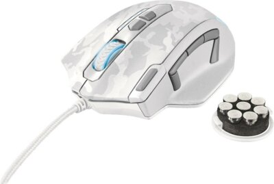Мышь Trust GXT 155W White Camouflage 2