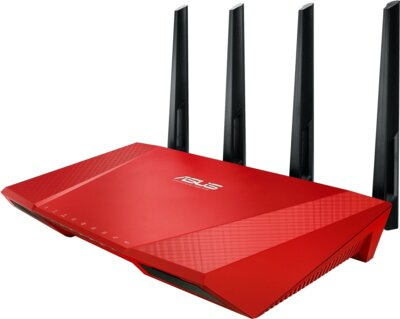 Маршрутизатор Asus RT-AC87U Red 1