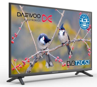 Телевизор Daewoo L43S645WTE 4
