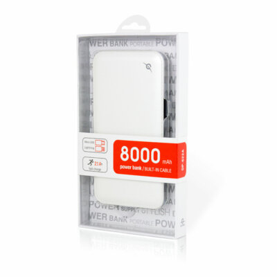 Мобільна батарея Global G. Power Bank DP622A White 5