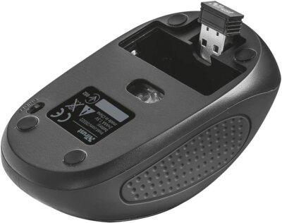 Миша Trust Primo Wireless Mouse Black 4