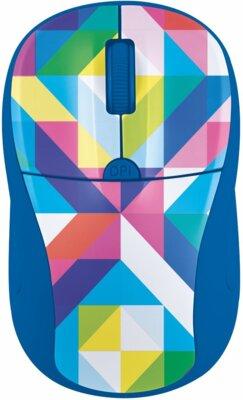 Мышь Trust Primo Wireless Mouse Blue Geometry 1