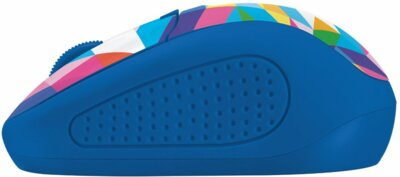 Мышь Trust Primo Wireless Mouse Blue Geometry 2