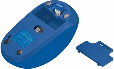 Мышь Trust Primo Wireless Mouse Blue Geometry 5