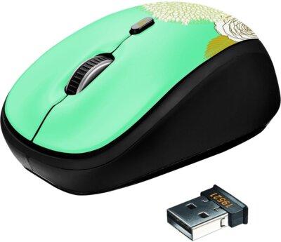 Мышь Trust Yvi Wireless Mouse Flower 2