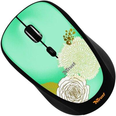 Мышь Trust Yvi Wireless Mouse Flower 3