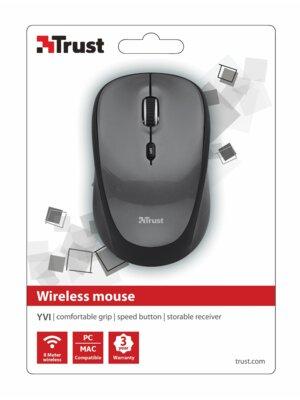 Миша Trust Yvi Wireless Mini Mouse Grey 2