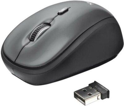 Миша Trust Yvi Wireless Mini Mouse Grey 4