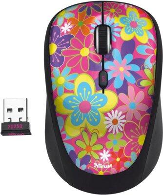 Миша Trust Yvi Wireless Mouse Flower Power 2