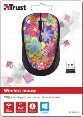 Миша Trust Yvi Wireless Mouse Flower Power 3