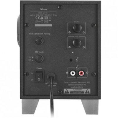 Акустическая система Trust Evon Wireless 2.1 Speaker Set Black 3