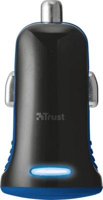 Зарядний пристрій Trust 5W Car Charger Blue 4