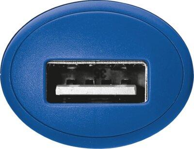 Зарядний пристрій Trust 5W Car Charger Blue 3