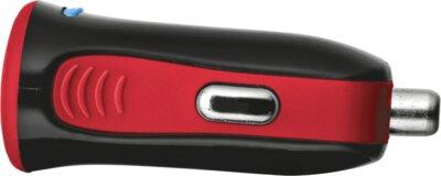Зарядний пристрій Trust 5W Car Charger Red 2