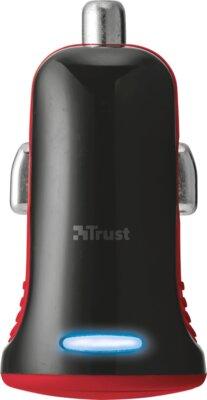 Зарядний пристрій Trust 5W Car Charger Red 3