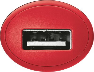 Зарядний пристрій Trust 5W Car Charger Red 4