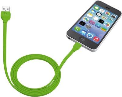 Кабель Trust Urban Lightning Cable Lime 4