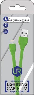 Кабель Trust Urban Lightning Cable Lime 6