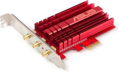 Сетевой адаптер ASUS PCE-AC68 2