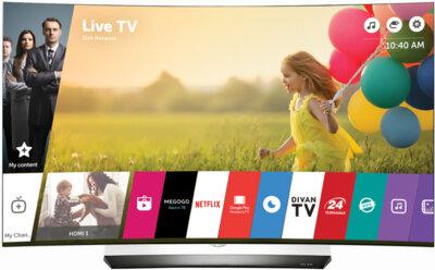 Телевизор LG OLED55C6V 1