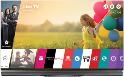 Телевизор LG OLED55E6V 1