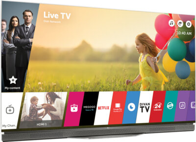 Телевизор LG OLED55E6V 4