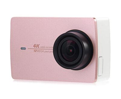 Екшн-камера Xiaomi Yi 4K International Edition Rose + Waterproof box 1