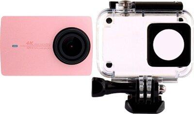 Екшн-камера Xiaomi Yi 4K International Edition Rose + Waterproof box 2