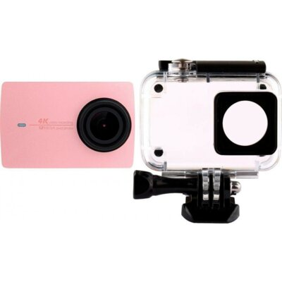 Екшн-камера Xiaomi Yi 4K International Edition Rose + Waterproof box 3