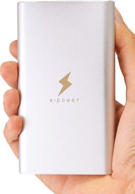 Мобильная батарея E-Power Power Bank PB-308-SLV 8000 mAh Silver 5