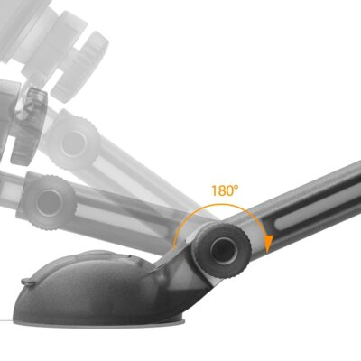 Автотримач iOttie Easy Smart Tap 2 Universal Car Desk Mount Holder Stand Cradle Black 3