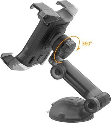 Автотримач iOttie Easy Smart Tap 2 Universal Car Desk Mount Holder Stand Cradle Black 7