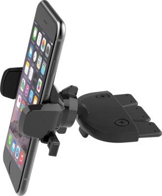 Автотримач iOttie Easy One Touch Mini CD Slot Universal Car Mount Holder Cradle Black 1