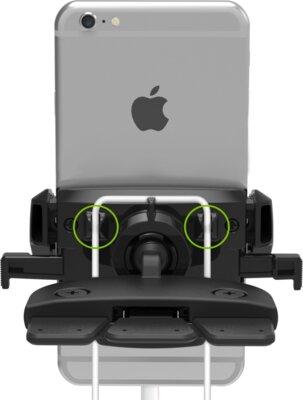 Автотримач iOttie Easy One Touch Mini CD Slot Universal Car Mount Holder Cradle Black 2