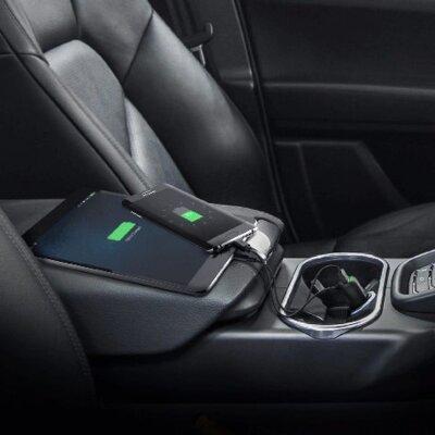 Зарядний пристрій iOttie RapidVOLT Mini Car Charger with Micro USB Cable Black 2