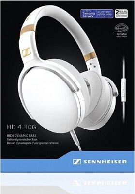 Навушники Sennheiser HD 4.30 G White 6