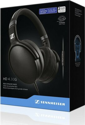 Наушники Sennheiser HD 4.30 G Black 3