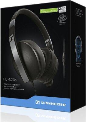 Навушники Sennheiser HD 4.20 S Black 2
