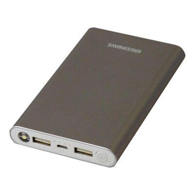 Мобильная батарея Greenwave PB-MC-8000 Silver 1