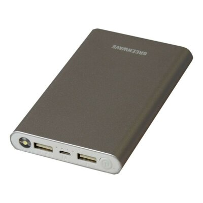 Мобильная батарея Greenwave PB-MC-10000 Silver 1