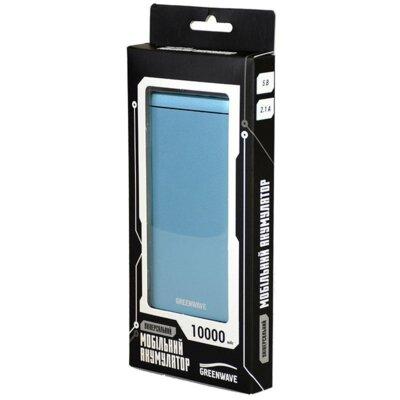 Мобильная батарея Greenwave PB-AL-10000 Blue 3