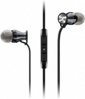 Навушники Sennheiser Momentum in-ear M2 IEG Black Chrome 1